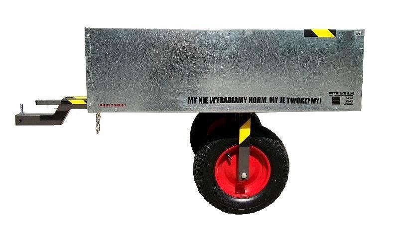 przyczepka do traktorka ogrodniczego kosiarki