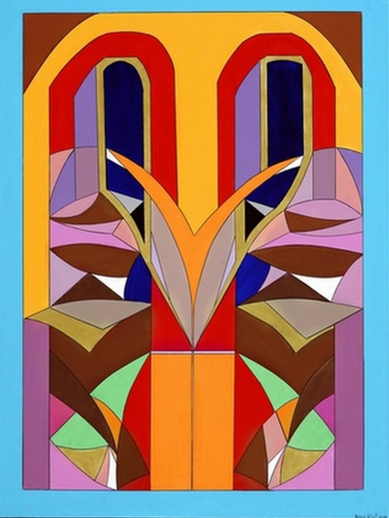 Cuadros modernos pinturas y dibujos modernos oleos multi colores - Cuadros de colores ...