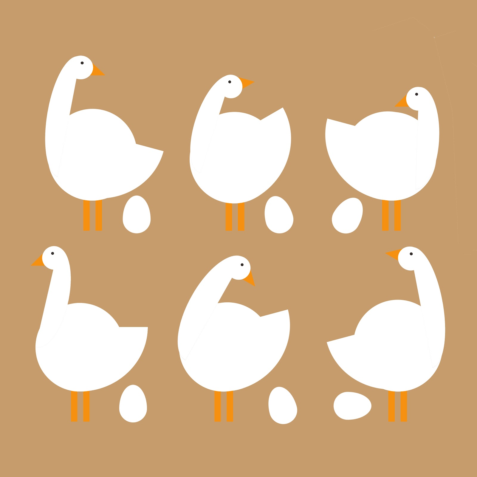 six geese a laying www imgkid com the image kid has it twelve days of christmas clipart for tracing 12 days of christmas web clipart