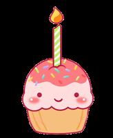 3 cosas sobre mí PNG-cupcake5