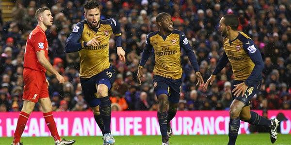 Enam Gol Tercipta di Laga Liverpool Kontra Arsenal