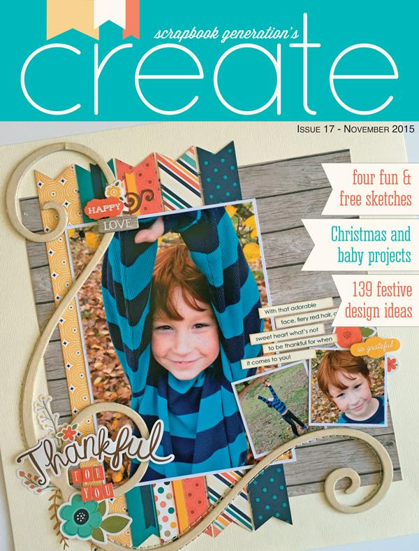 Scrapbook Generation Create Magazine November 2015
