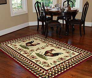 Lynn morris interiors june 2012 for Country style kitchen rugs