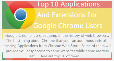 Top 10 Best Recommended Applications And Extensions For Google Chrome Users [infographic] : image 2
