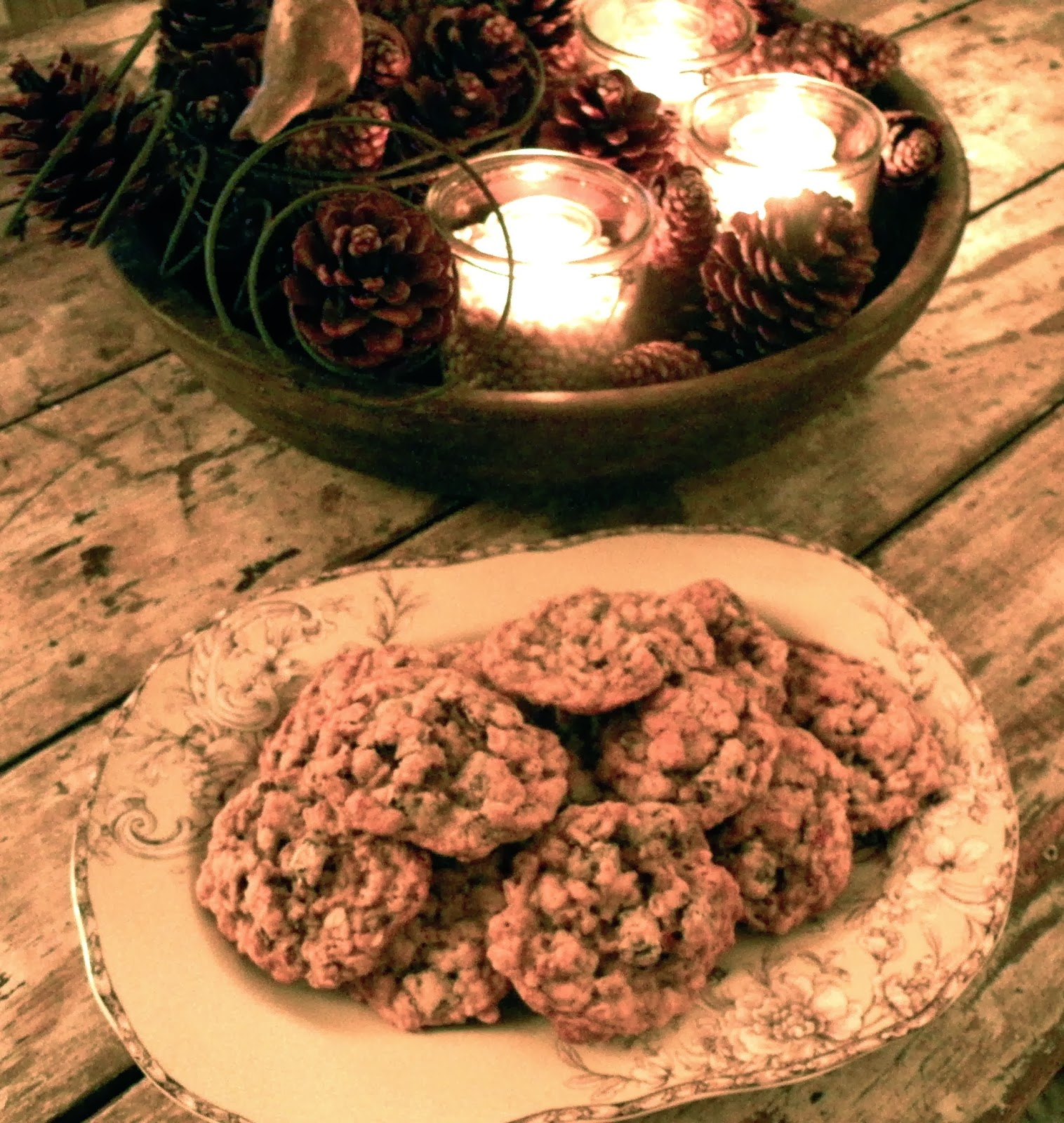 oldgreymare: Oatmeal Chocolate Chunk Pecan Cookies For Comfort