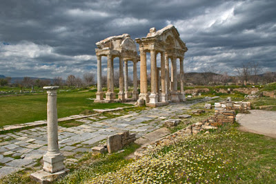 Turkey - Aphrodisias Tetrapylon