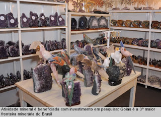 Cristalina sedia Feira de joias, Artesanato Mineral e Pedras preciosas