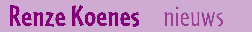 Renze Koenes nieuws