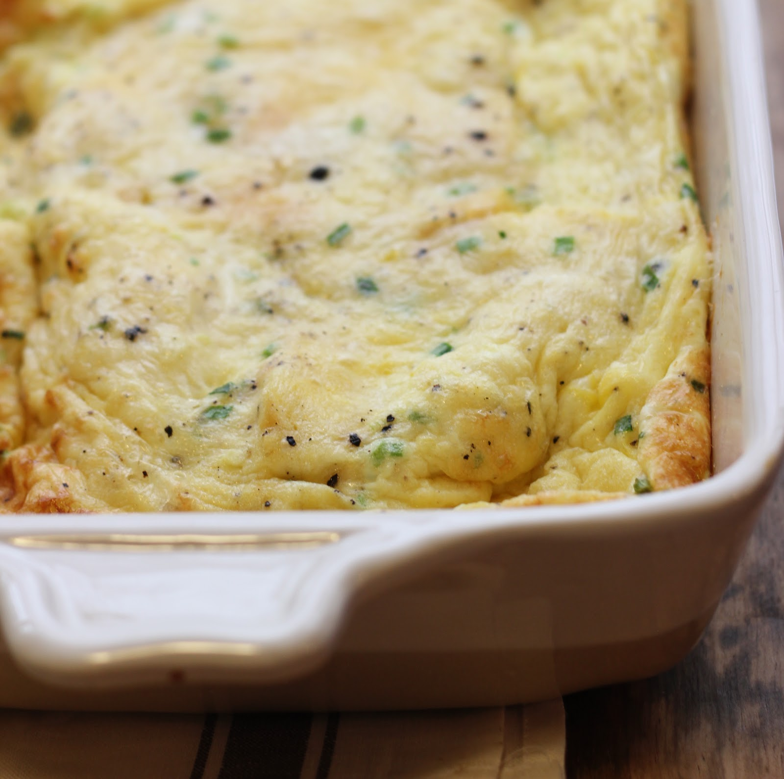 Egg Strata Best With Chive and Cheddar Egg White Strata Photos