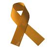 Lazo dorado representa al Día Internacional del Cáncer Infantil