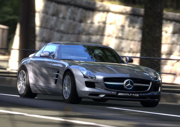 Mercedes Sls Amg on Acura Integra Rsx