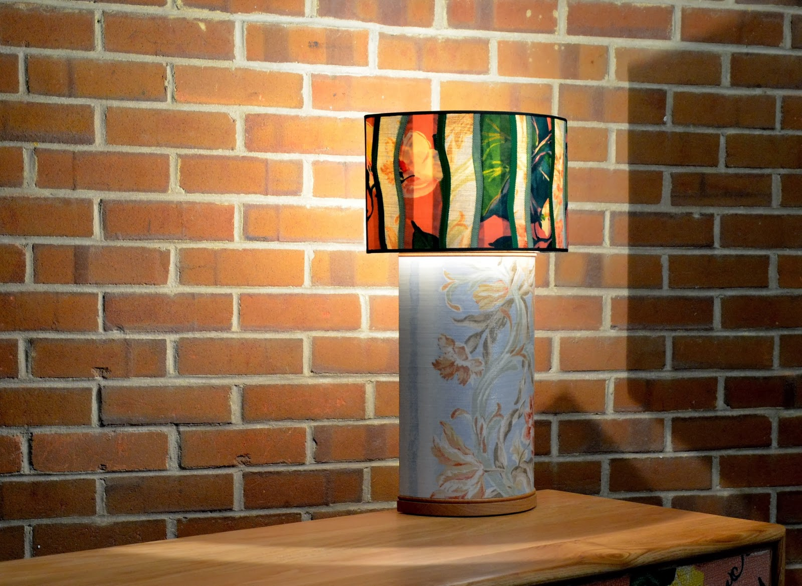 Decoupage Table Lamp