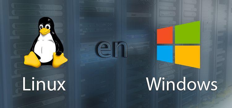 como instalar linux en windows