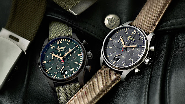 The new Alpina StarTimer Pilot Chrono Big Date