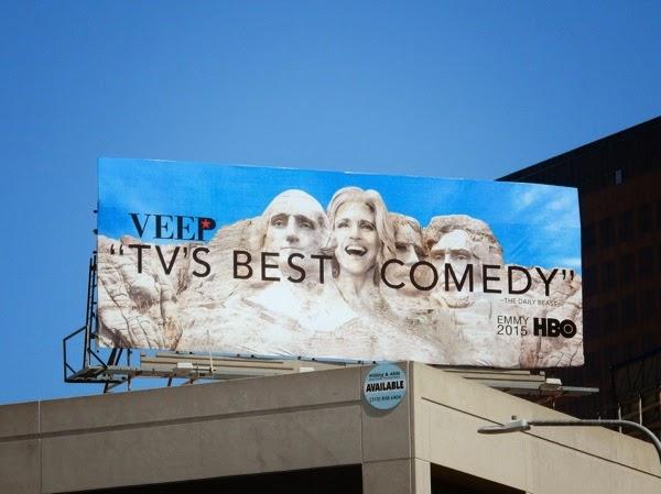 Veep season 4 Emmy 2015 billboard