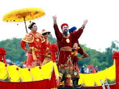 Festivals of Con Son Pagoda