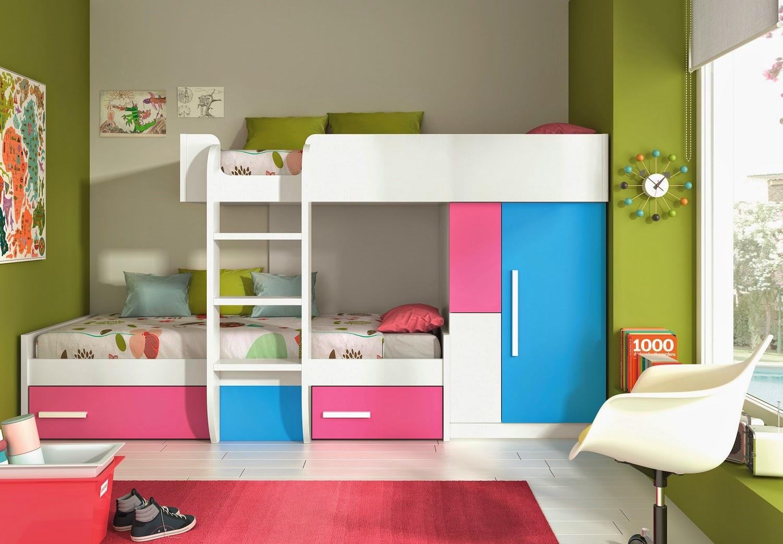 Tu tienda ahorro dormitorio juvenil cama tren for Dormitorios ahorro total