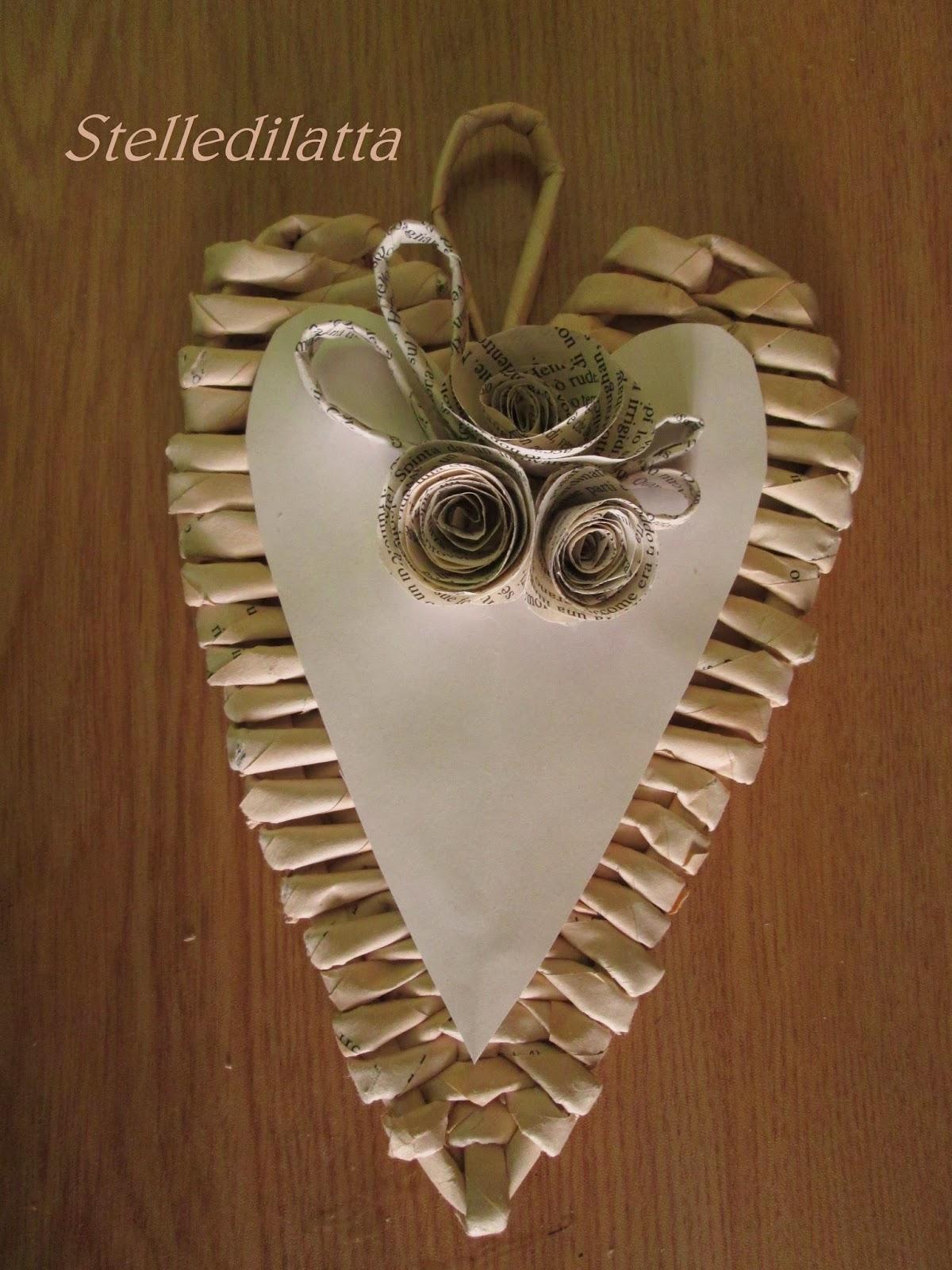 Stelledilatta cuore intrecciato - Decorazioni cuori ...