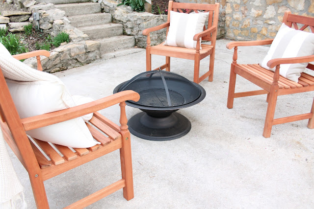 Our Patio Makeover - Julie Blanner entertaining & home design that ...