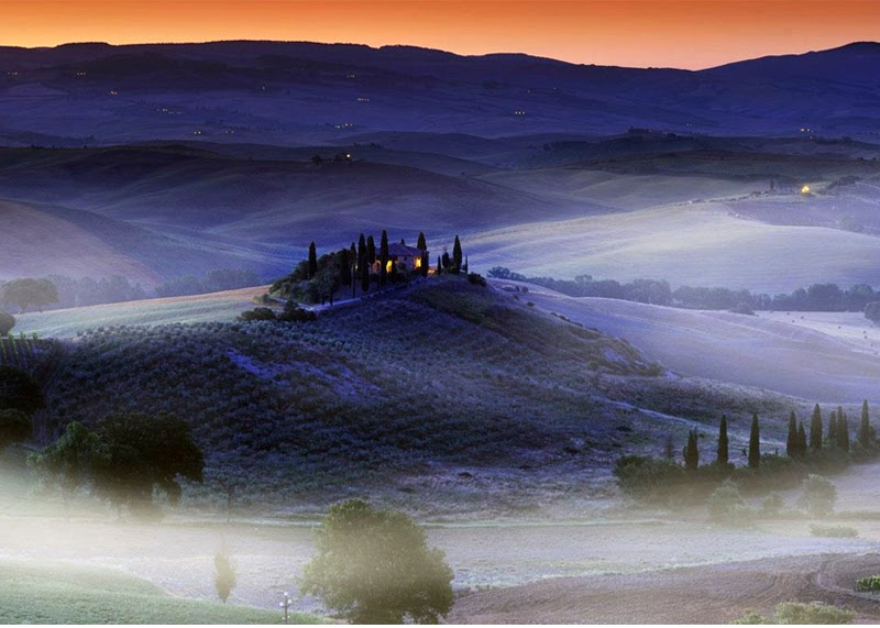 Stunning Images - Country Villa Val D'Orcia, Tuscany, Italy | Stunning ...