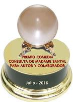 Regalo de Madame Santal el 3/07/2016