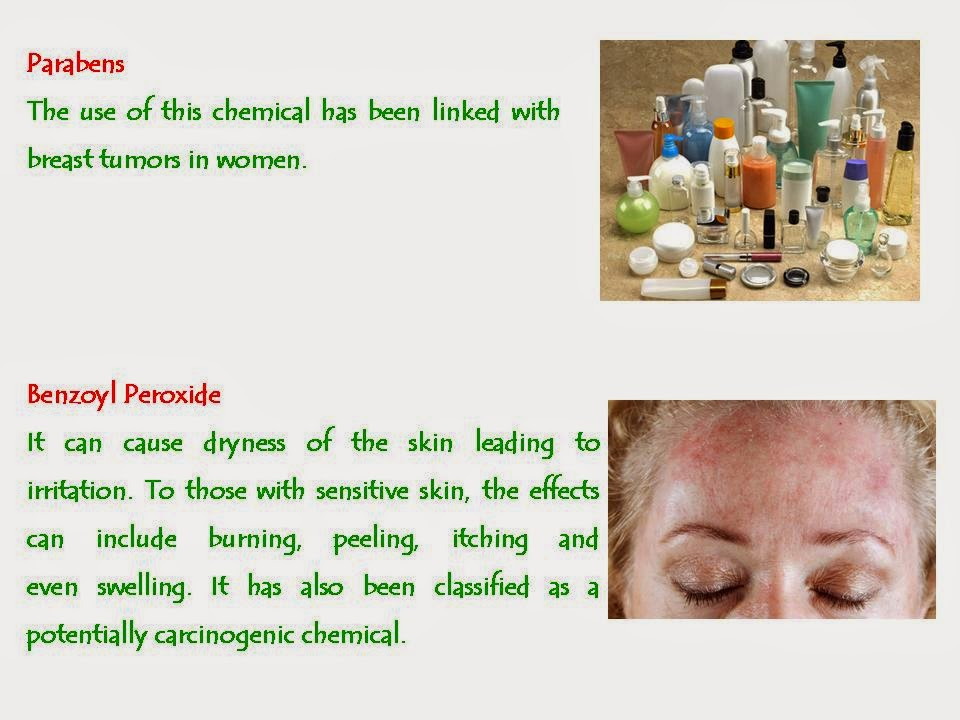 Harmful Chemicals in Beauty Products Can Effect Skin & Health