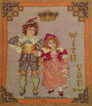 "Postcard named ""Albert & Belle"""
