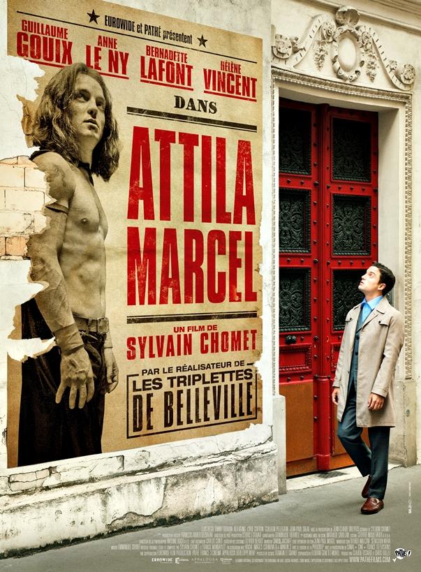 Póster Attila Marcel, de Sylvain Chomet