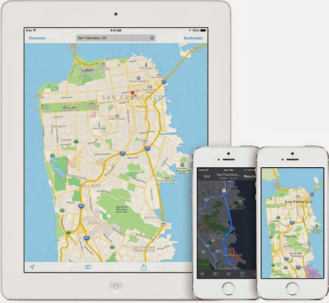 Comscore data show a total of 35 million iPhone users used Apple Maps per month