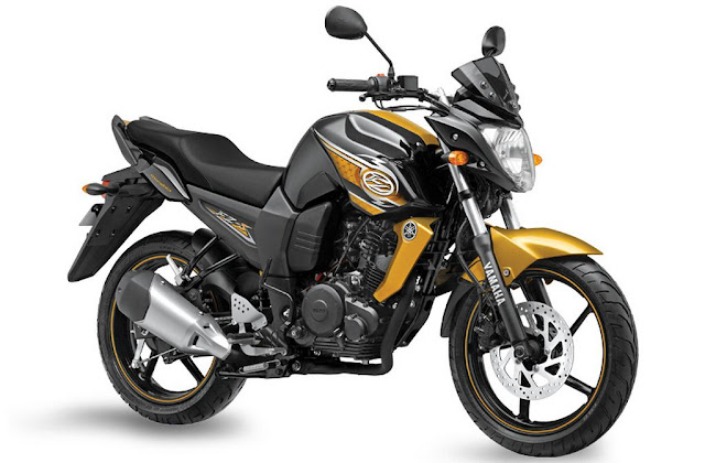Yamaha FZ-S Glory Gold