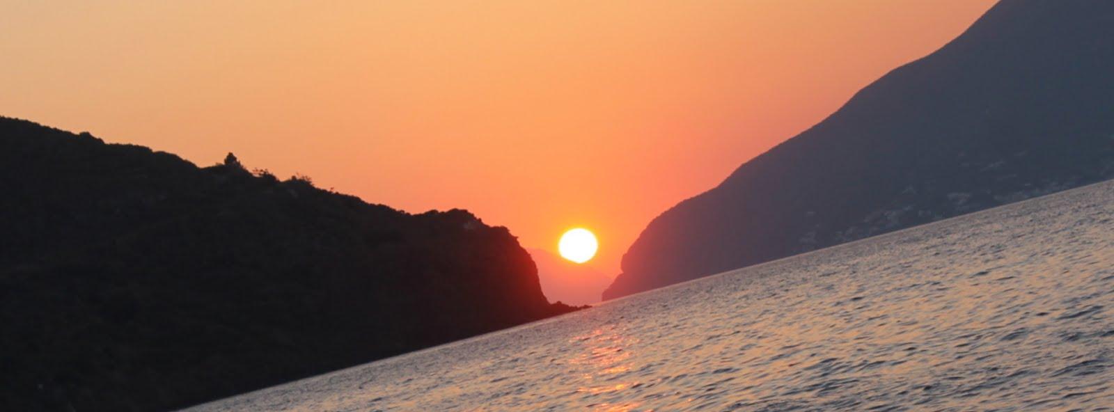 Tramontto Mediterraneo