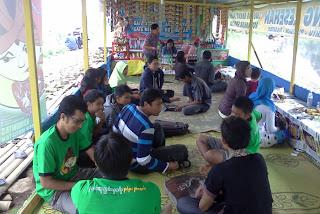 Kopdar PSC di Telaga Wahyu Magetan