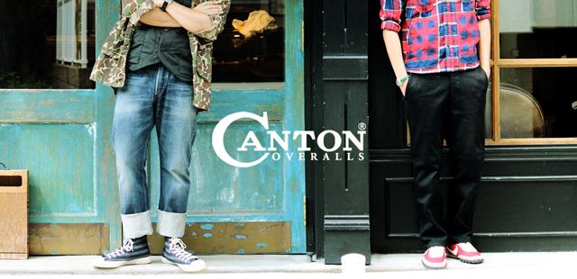 canton 14fw japandenim cantonoveralls madeinjapan