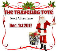 The Traveling Tote #13 -Dec 1st
