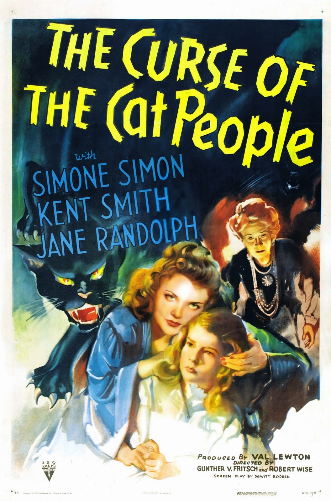 40 the curse of the cat people 1944