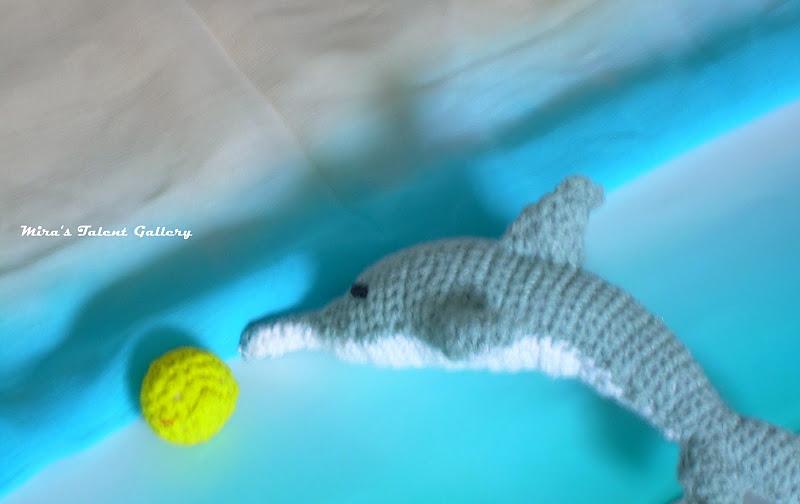 Amigurumi Dolphin Free : Miras Talent Gallery @ My Hobby Lounge: Phini - The ...