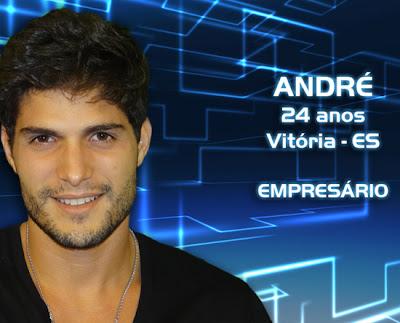 Lista de participantes do BBB 13 - André - Espirito Santo - Flagras - Fotos