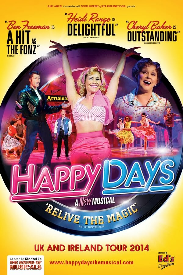 HAPPY DAYS the Musical starring Heidi