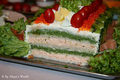 Sandwich cake Dessert Yummy and tasty food Recipe in english