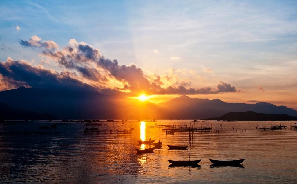 Hình ảnh đầm Nha Phu ở Nha Trang