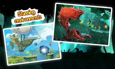 Rayman Jungle Run 2.0.8 APK + DATA