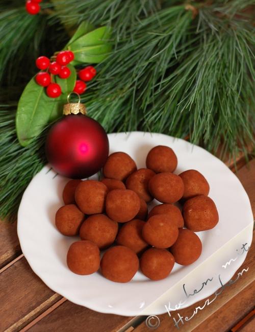 Weihnachtsbäckerei - Marzipankartoffeln