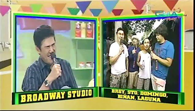 Hilarious Winner from Barangay Santo Domingo Biñan, Laguna