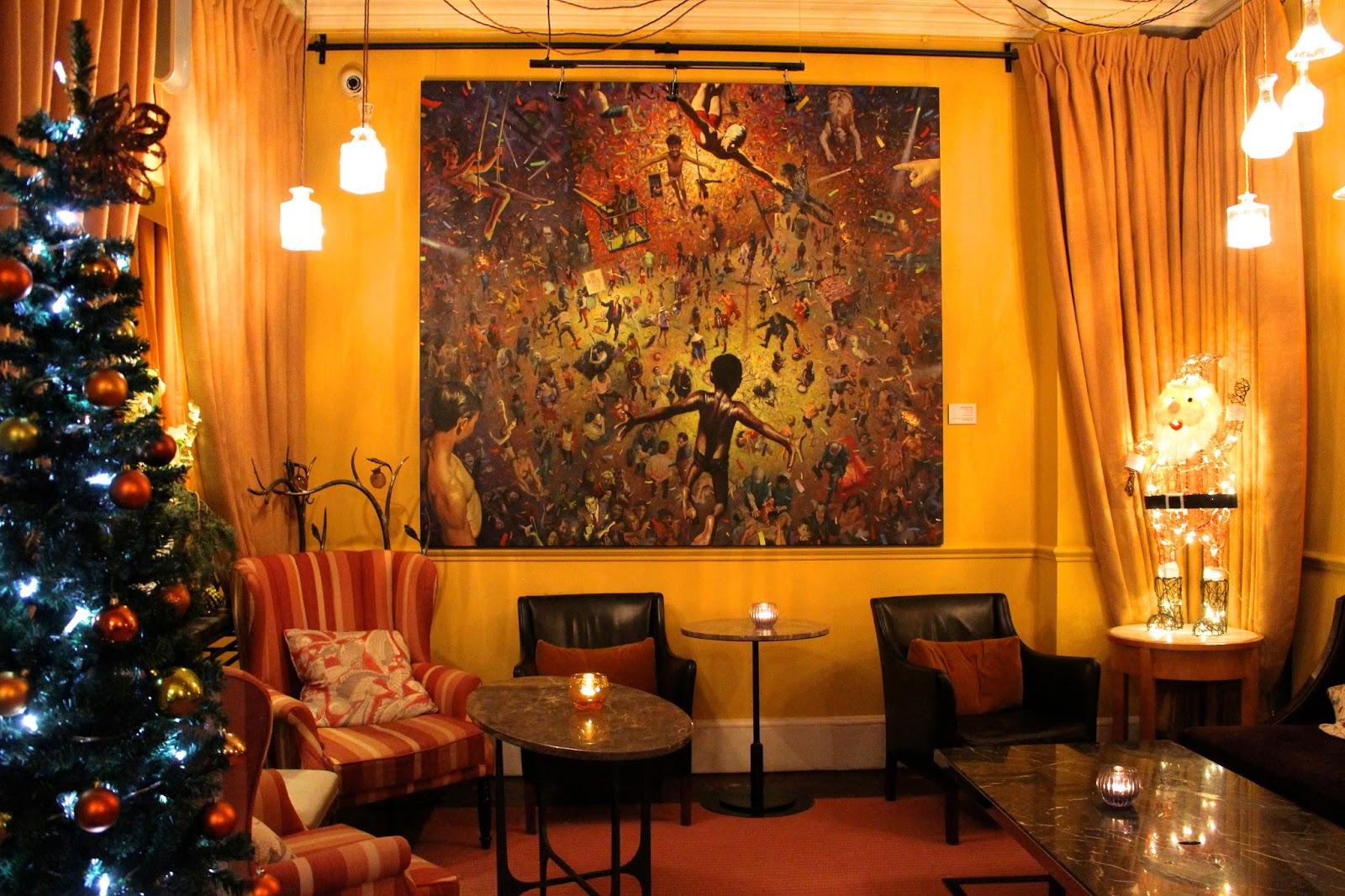 abbey hotel interior design