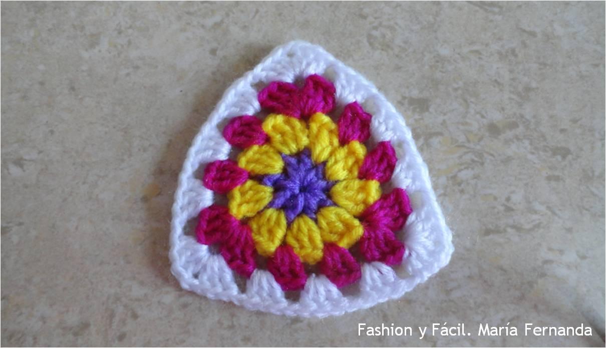 Fashion y Fácil : Tutorial de cómo hacer grannies o pastillas ...
