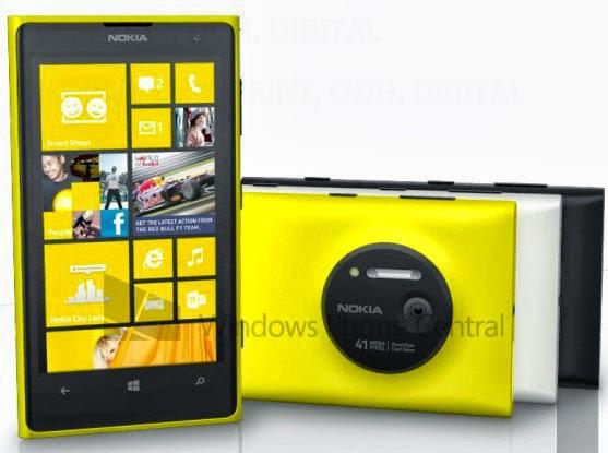 Nokia Lumia 1020 صورة