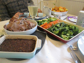 post christmas meals roasted lamb dinner
