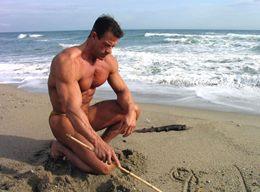 Alain Petriz - Master Bodybuilding Competitor, Sexy Big Ripped Daddy Hunk