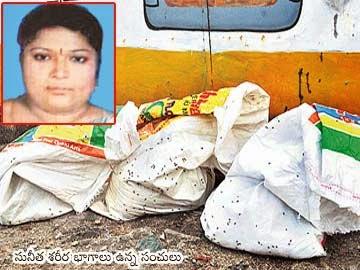 suneetha dead body in bags at moosi