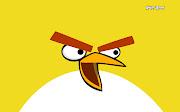 Fondo de pantalla de el pájaro amarillo de Angry Birds Chuck